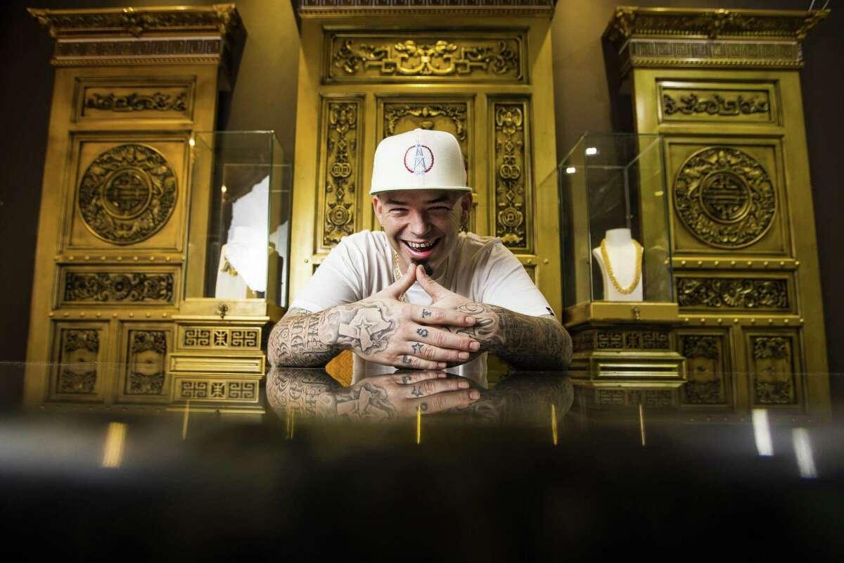 Houston rapper Paul Wall.