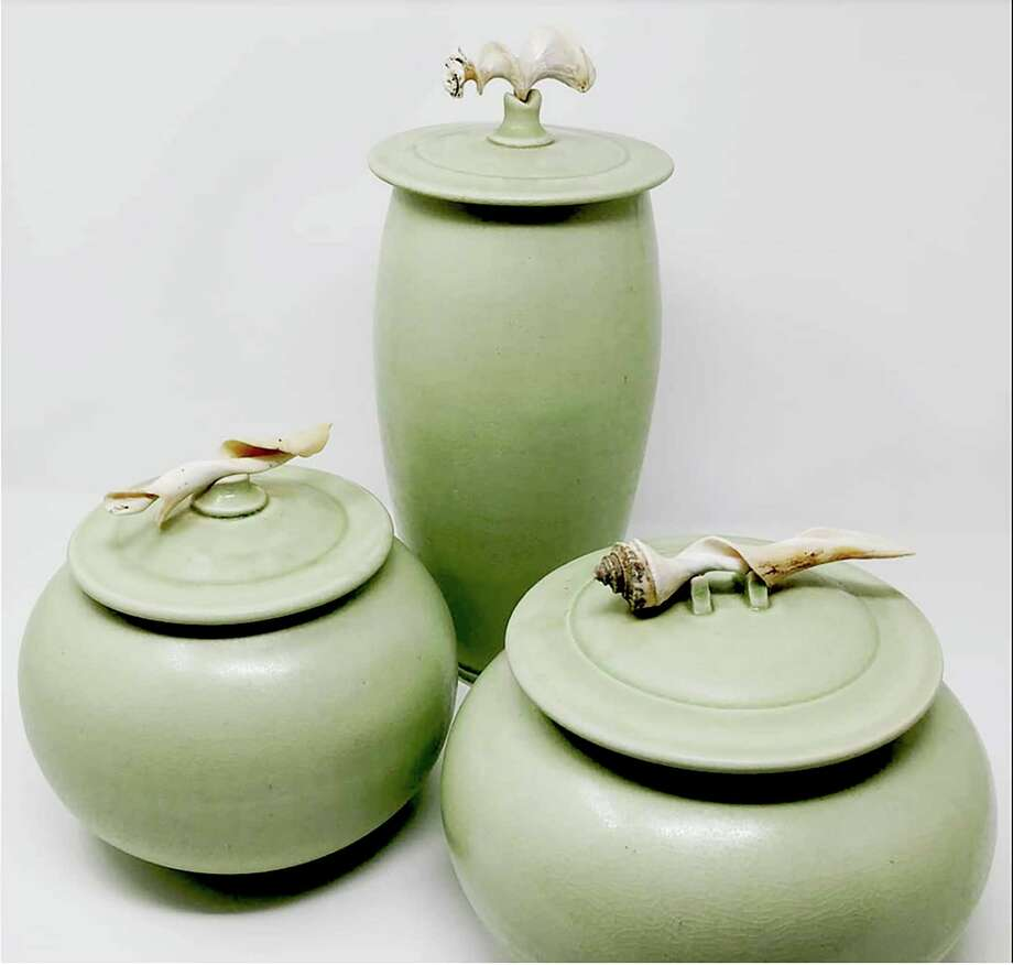 The Gallery/Shop at Wesleyan Potters will feature pottery by ceramic artists, Linda Sershen of Southington and Mary Bramble Scott of West Hartford. Photo: Contributed Photo /