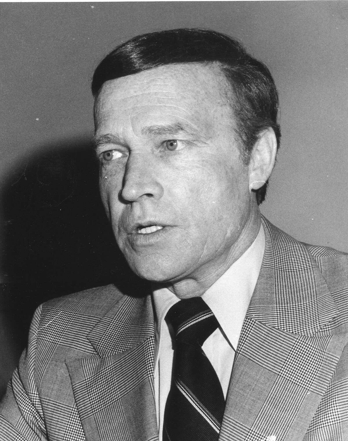 Police Chief Charles Gain, March 22, 1977