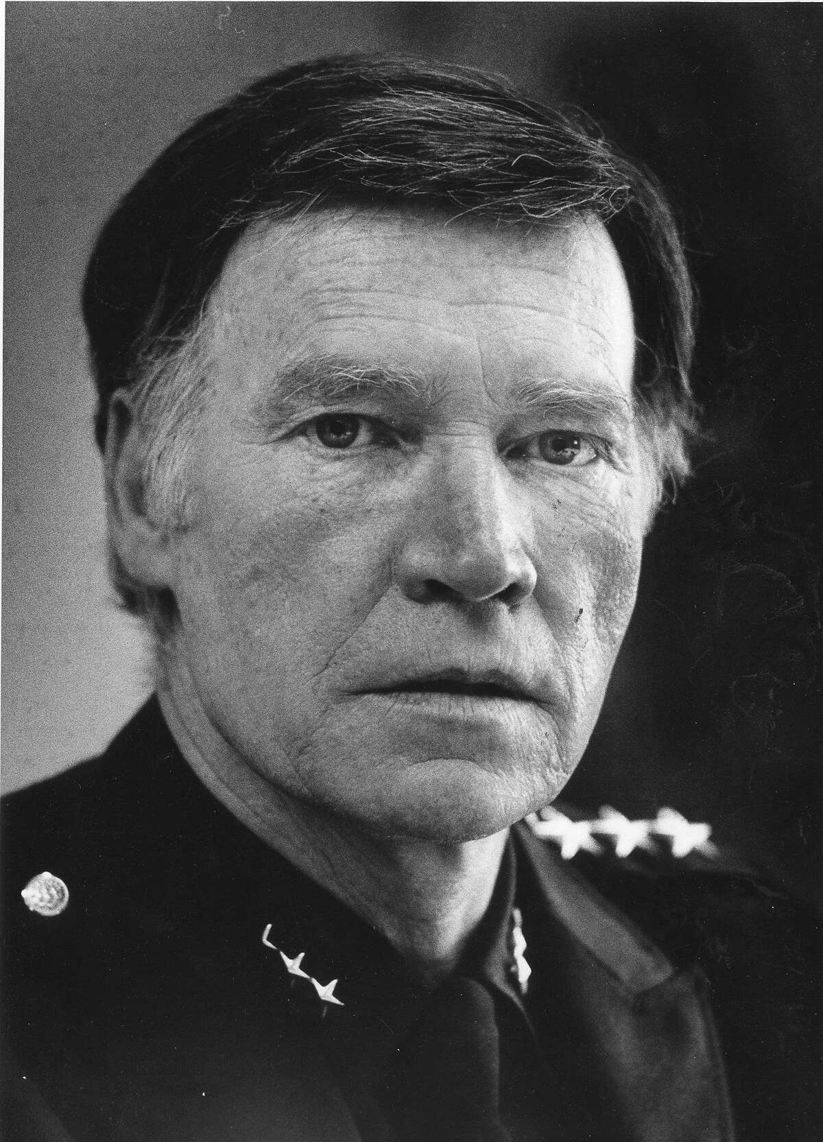 Police Chief Charles Gain, June 29, 1979