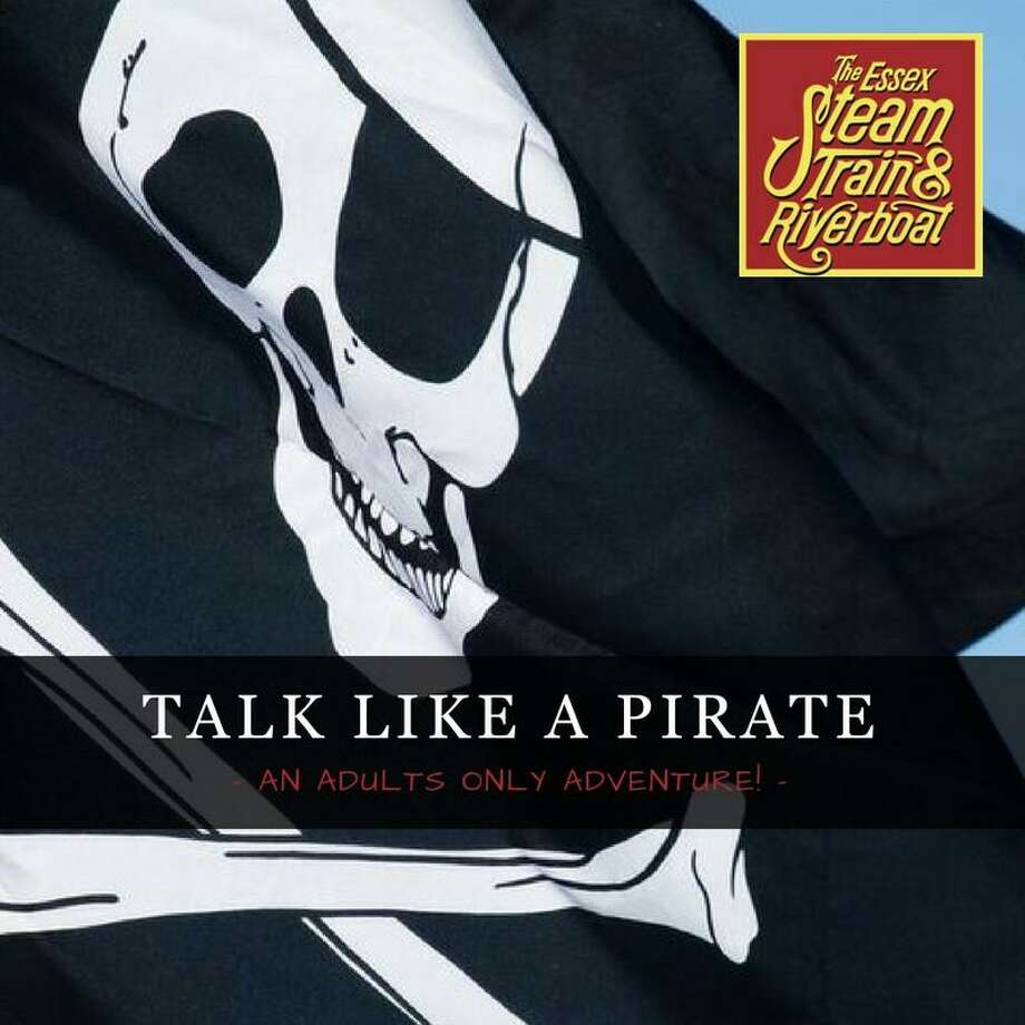 """Essex Steam Train and River Museum will host a """"Talk like a pirate"""" cruise in September. Photo: Contributed Photo /"""