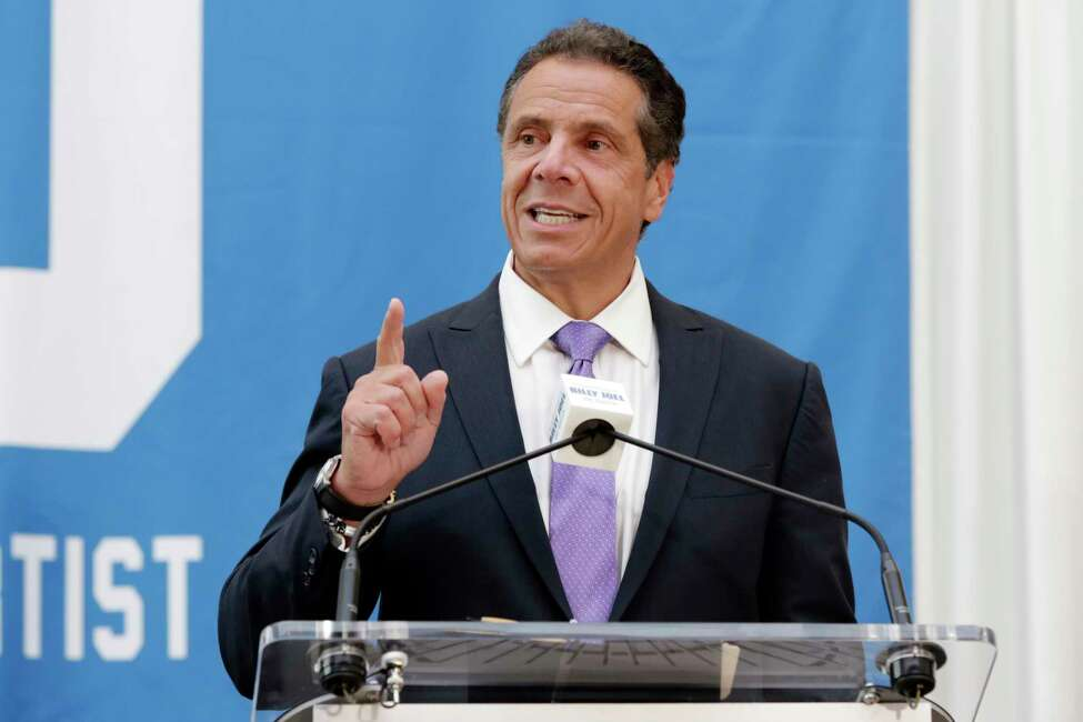 Gov. Andrew M. Cuomo announced on Thursday that members of his working group, which is tasked with crafting legislation creating a regulatory framework for recreational marijuana, will meet 15 times to get local input on their work. (AP Photo/Richard Drew)
