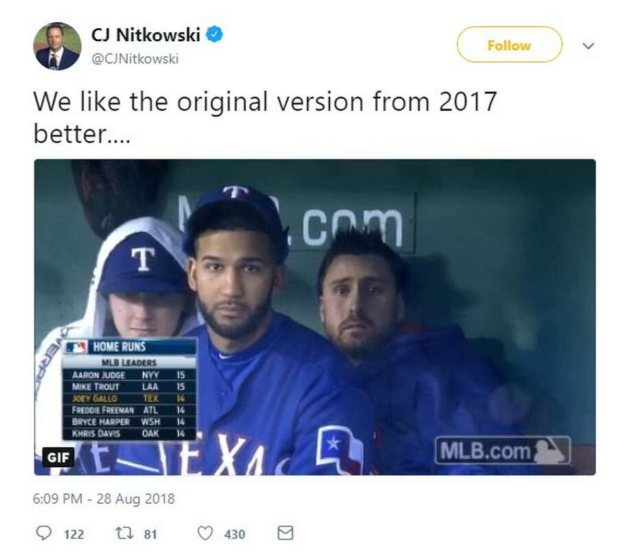 PHOTOS: Astros dugout staredown goes viral