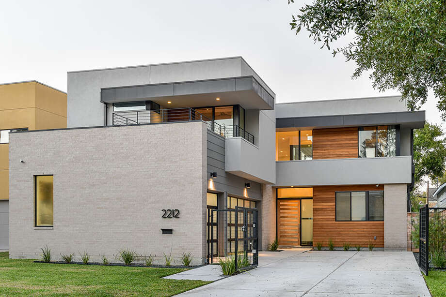 This home at 2212 Colquitt will be on the 2018 Modern Architecture + Design Society Home Tour. It was designed by studioMET Architects. Photo: Luis Ayala