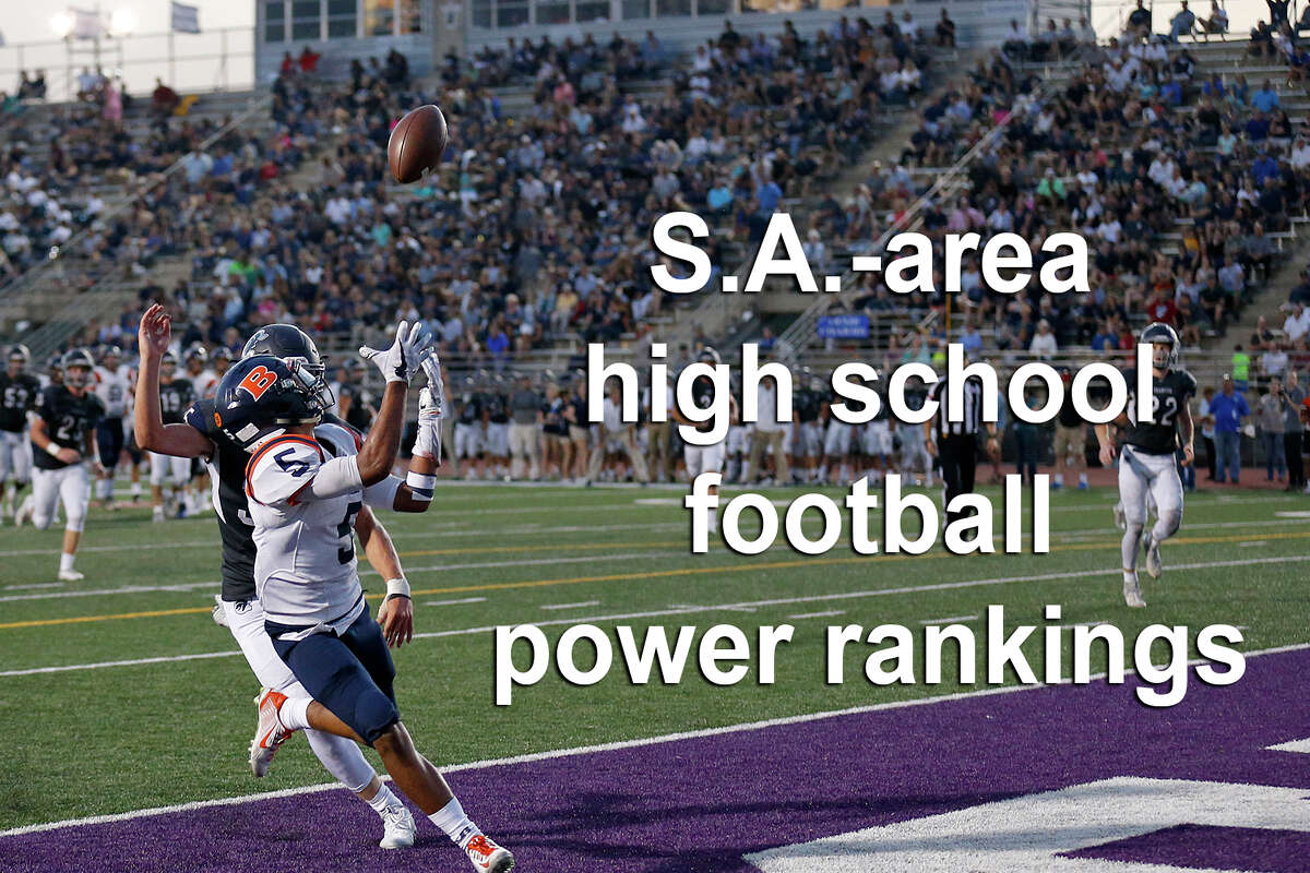 Click through the slideshow to see power rankings for San Antonio-area schools.