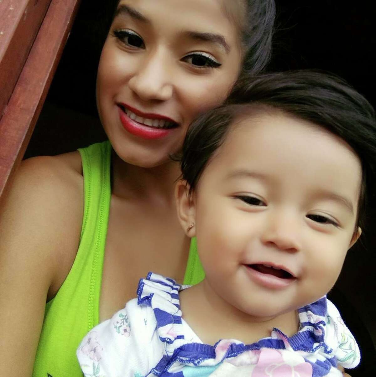 Yazmin Juarez and her daughter Mariee, the toddler who died at a Pennsylvania hospital after staying at an immigrant facility in Dilley. The mother and her daughter fled Guatemala and crossed the U.S border to seek asylum.