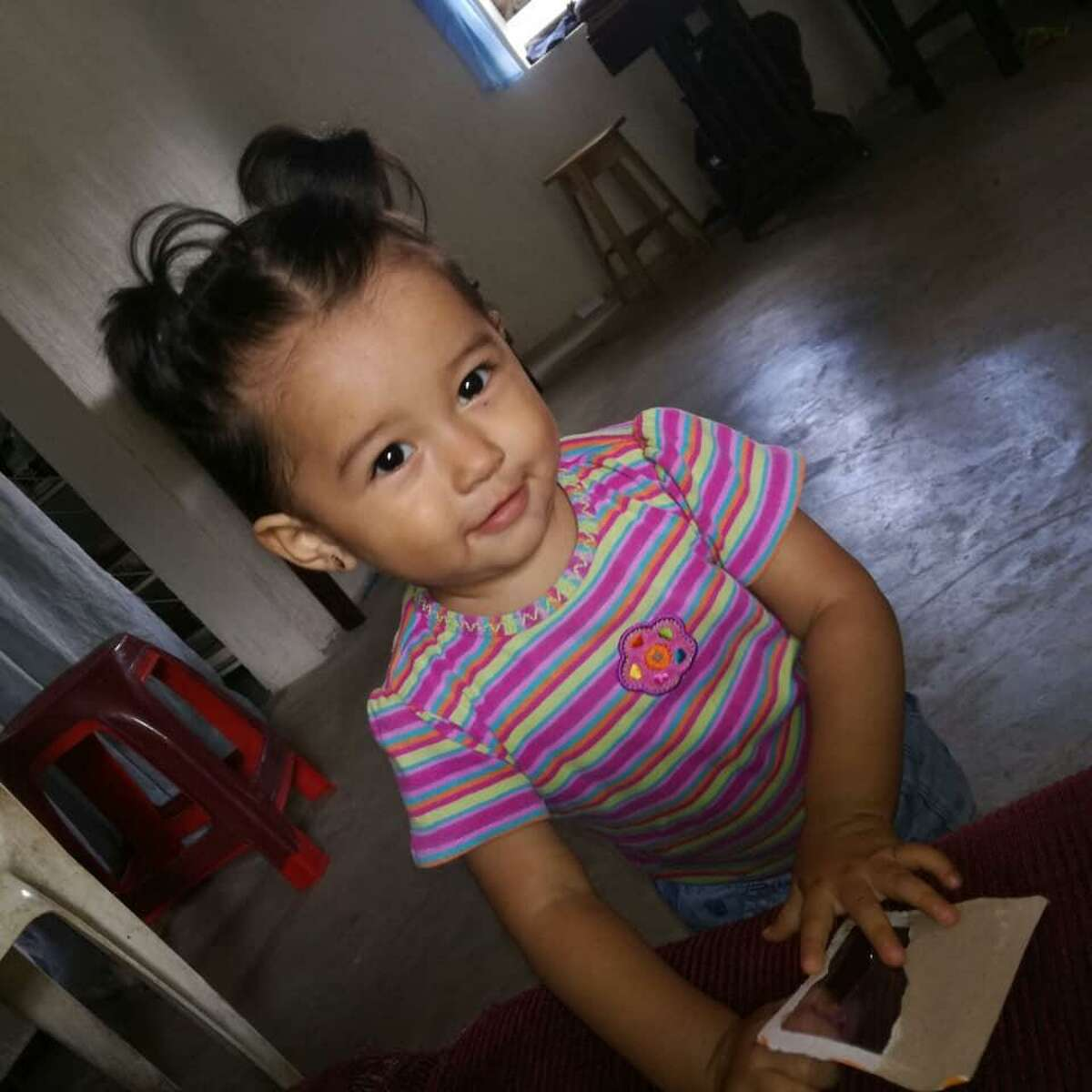 Yazmin Juarez's daughter Mariee, the toddler who died at a Pennsylvania hospital after staying at an immigrant facility in Dilley. The mother and her daughter fled Guatemala and crossed the U.S border to seek asylum.