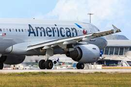 A dead newborn baby was found in a toilet on an American Airlines plane at LaGuardia Airport (not pictured) on Tuesday, Aug. 7, 2018. (Dreamstime/TNS)