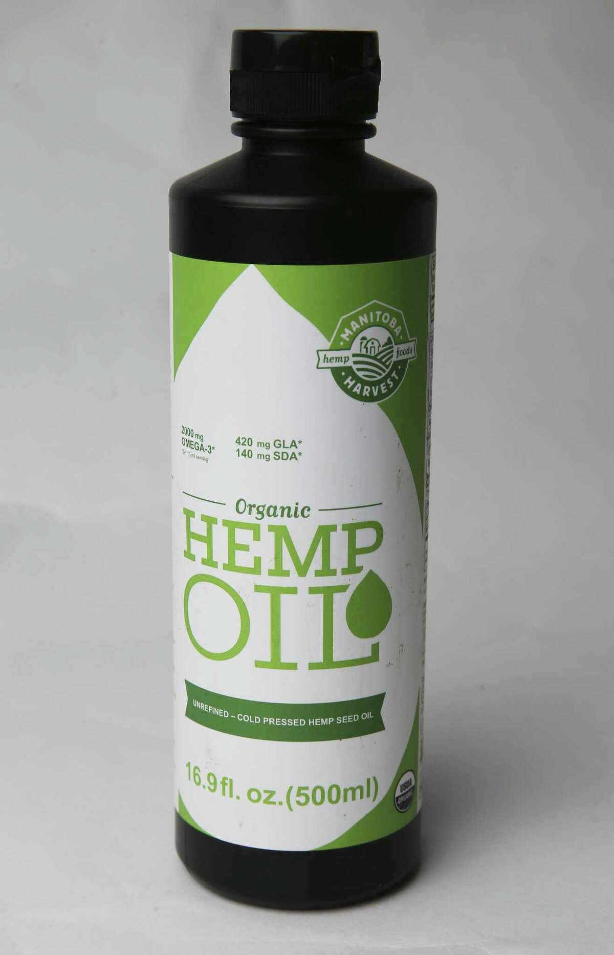 Hemp products on August 21, 2018.