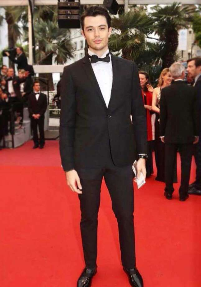 """Chase Parker, an actor and filmmaker from The Woodlands, is pictured at the 2018 Cannes Film Festival in France in May. His film """"American Fishtrap"""" was featured at the world-famous event. There will be a red-carpet event at The Grand 14 in Conroe on Sunday to introduce the film locally. Photo: Courtesy Photo"""