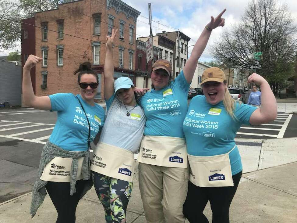 Capital District Habitat for Humanity Women Build 2018 volunteers. (Capital District Habitat for Humanity)
