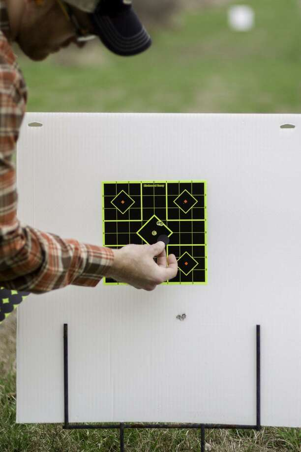 The Birchwood Casey Shoot-N-C targets can sure make seeing where you are hitting a lot easier when it comes time to sight in your rifle. Photo: Howard Communications / Howard Communications http://www.howardcommunications.com