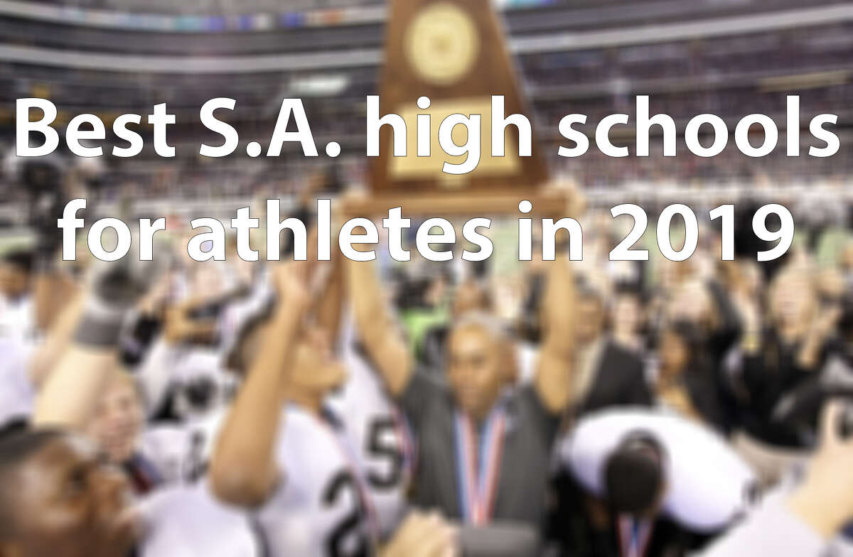Click through the slideshow to see the 25 best high schools in the San Antonio area for athletes, according to Niche.