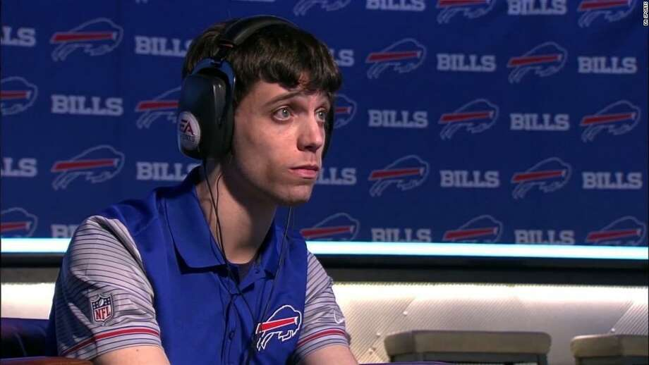 David Katz, who won the Buffalo Bills Madden football video game tournament in 2017, was the alleged gunman in the Jacksonville, Fla., mass shooting. Photo: Editorial Board / EA Sports