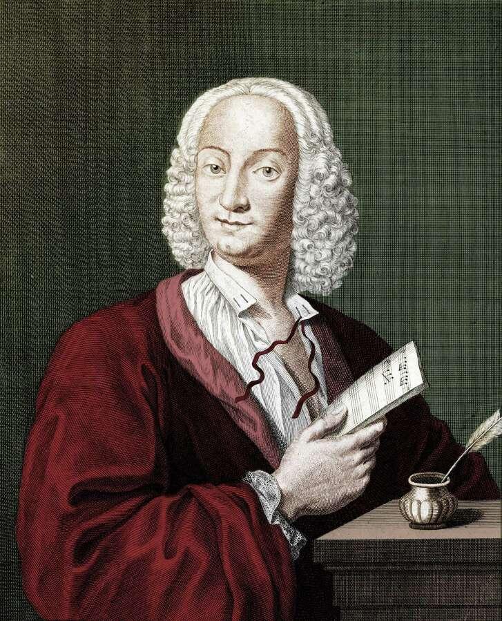 Antonio Vivaldi, Italian composer.