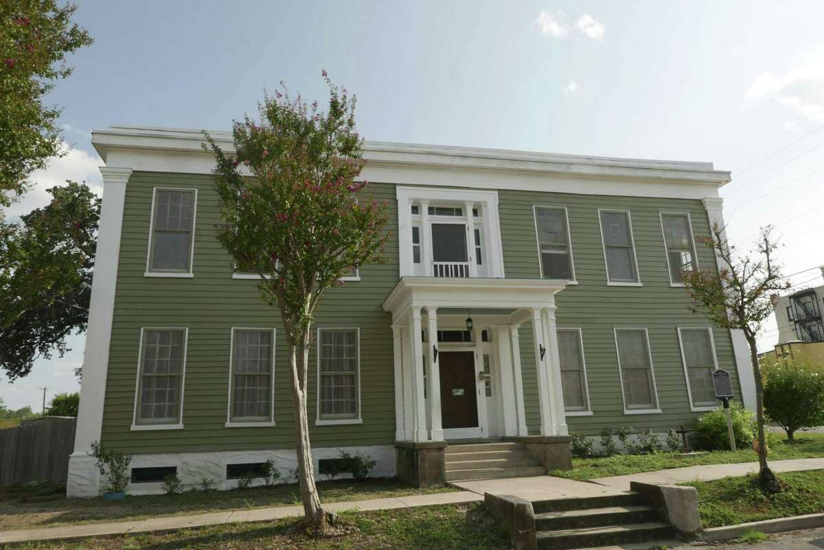 The Magnolia Hotel in Seguin is said by some to be haunted. Owners Erin O. Wallace-Ghedi and husband Jim Ghedi purchased it in 2013 and have restored much of it.
