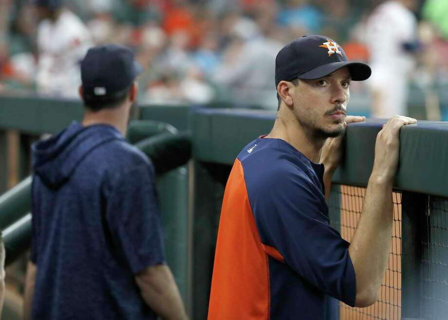 PHOTOS: Great Astros photos from this season Houston Astros pitcher Charlie Morton during the fourth inning  of an MLB baseball game at Minute Maid Park, Wednesday, August 29, 2018, in Houston. >>>See photos of the best Astros photos from this season ... Photo: Karen Warren, Staff Photographer / © 2018 Houston Chronicle