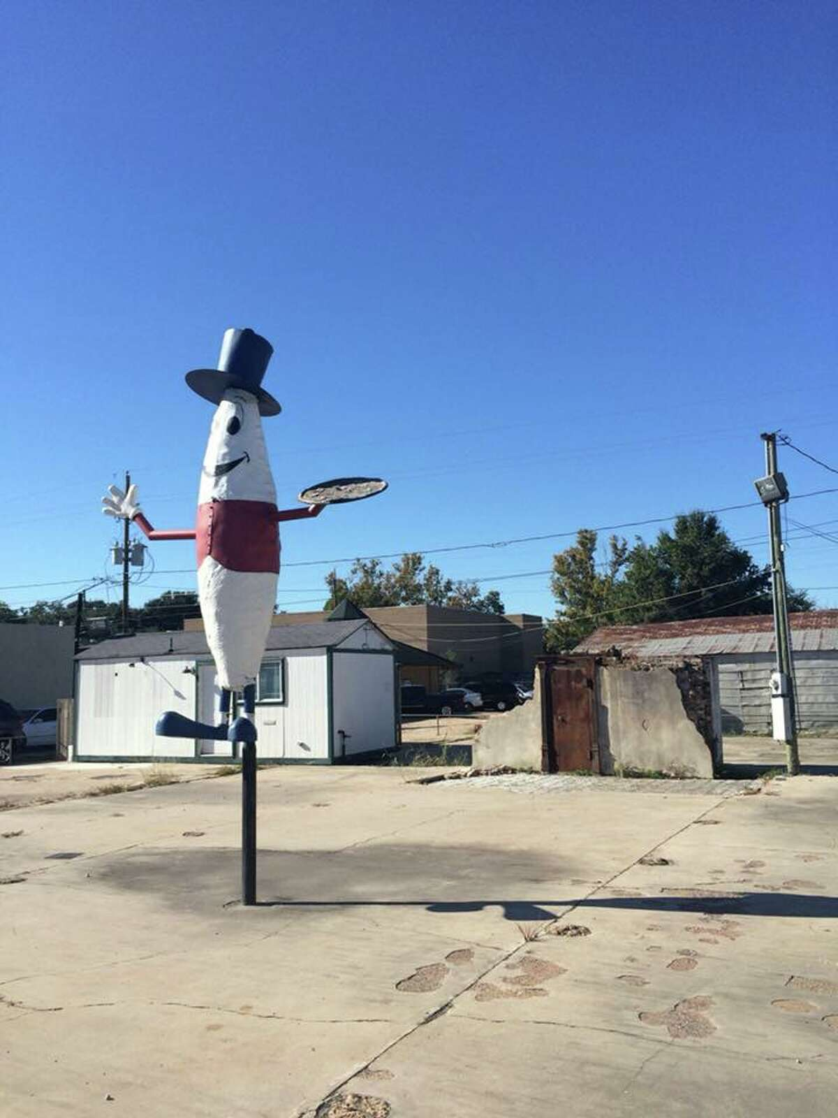 Tomball: The Pickle Man on Main Street, also known to some in town as The Joint, since it was whitewashed, Facebook users say.