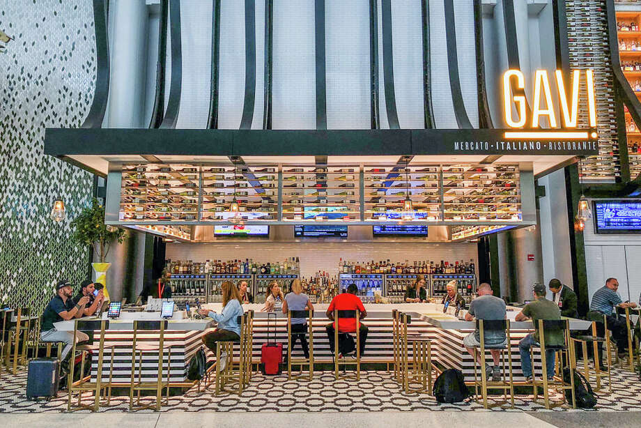 A photo provided by OTG shows Gavi, an Italian restaurant at George Bush Intercontinental Airport in Houston that  offers healthy dining alternatives to the usual fast-food fare. In recent years, airports around the United States have increased the availability of healthy snacks, meals and drinks to cater to travelers who want to follow a balanced diet. (OTG via The New York Times) -- NO SALES; FOR EDITORIAL USE ONLY WITH STORY SLUGGED AIRPORTS HEALTHY FOODS ADV02 BY SHIVANI VORE. ALL OTHER USE PROHIBITED. -- Photo: OTG / OTG