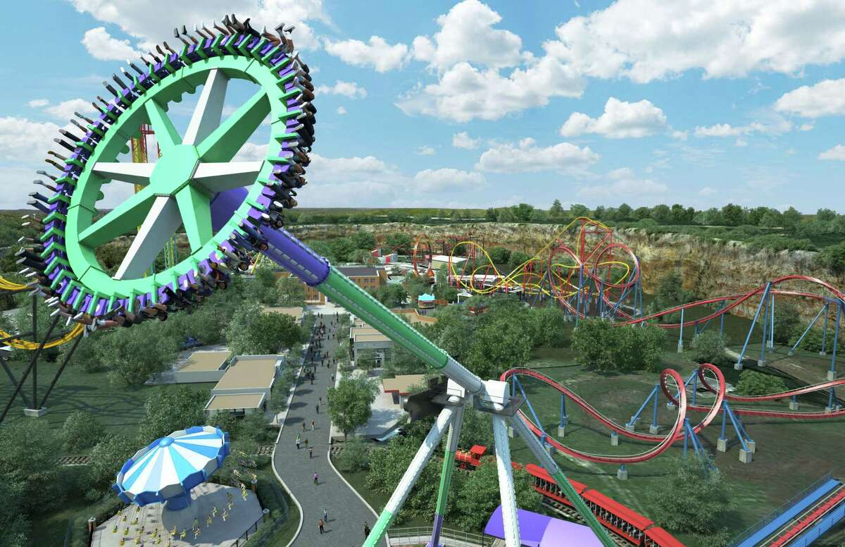 Six Flags Entertainment Corp. plans to open The Joker Wild Card, a 17-story pendulum ride, at Six Flags Fiesta Texas in time for its 2019 summer season.
