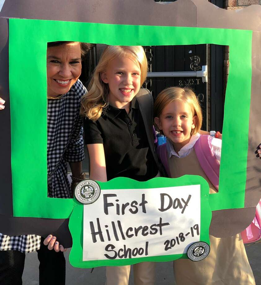 Hillcrest School first day of school Photo: Courtesy Photo