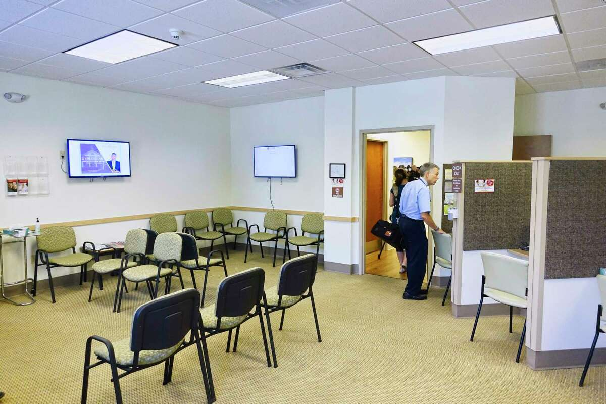 A view inside the newly opened St. Peter's Health Partners Urgent Care facility on Wednesday, Aug. 29, 2018, in Saratoga Springs, N.Y. (Paul Buckowski/Times Union)