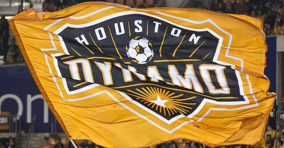 Houston Dynamo mascot Diesel waves a Dynamo flag beforew the first half of the MLS Western Conference Finals at BBVA Compass Stadium on Tuesday, Nov. 21, 2017, in Houston. ( Brett Coomer / Houston Chronicle ) Photo: Brett Coomer/Houston Chronicle
