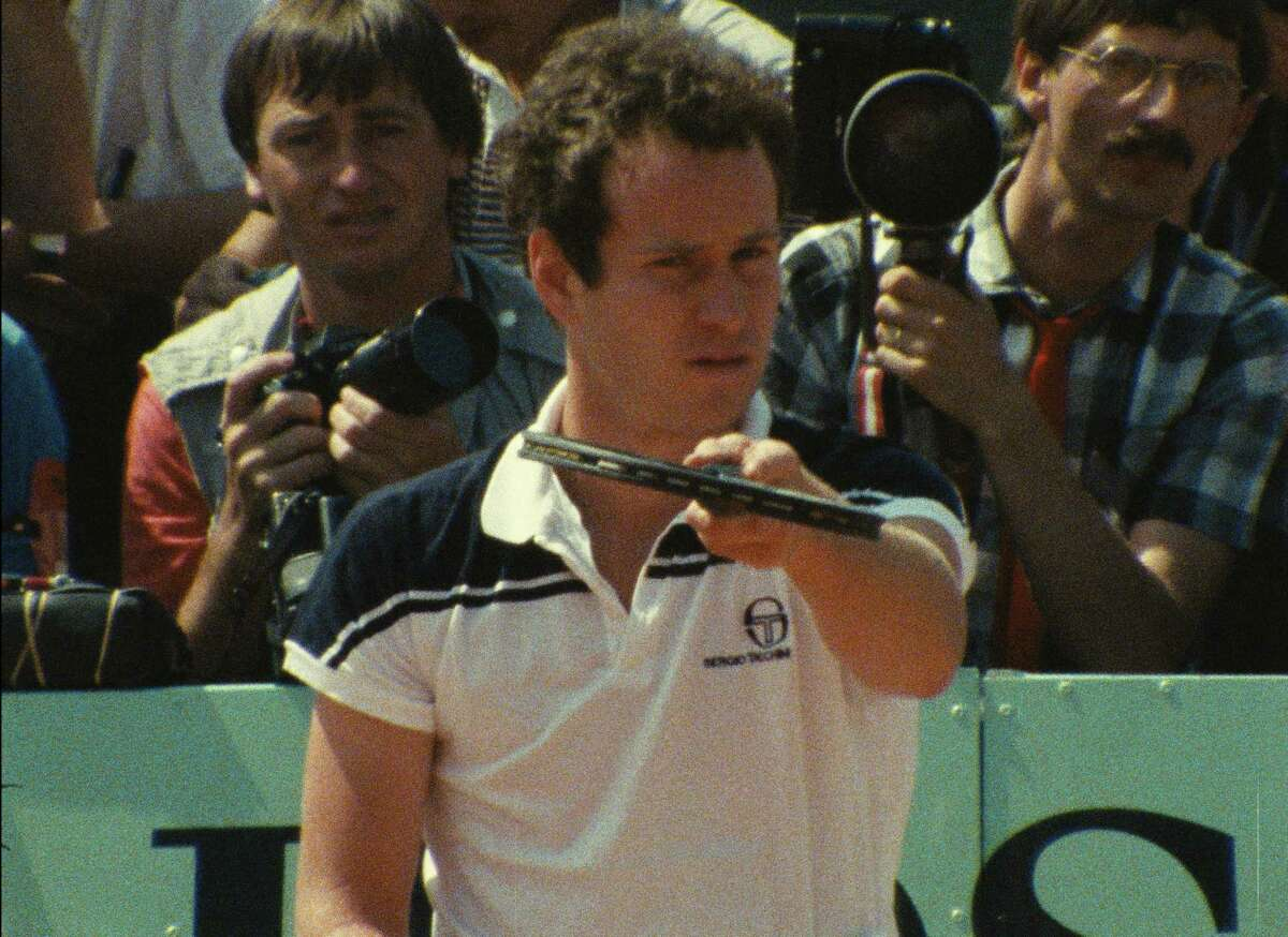 A documentary chronicles John McEnroe's tennis brilliance in 1984, including at the French Open where he reached the final.