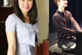 "Pianists Ting Yi Wong (left) and Riley Cook will perform their ""Danse et Devouement"" recital."