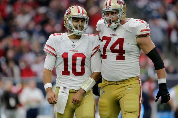 the best attitude 7d3d7 2c163 49ers' Joe Staley excited about future for himself, team ...