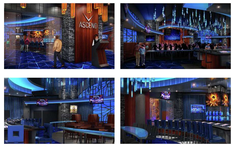 Renderings show the new ASCEND sports bar and night club at Soaring Eagle Casino and Resort in Mount Pleasant. (Photo screenshot/https://www.soaringeaglecasino.com/ascend.aspx) Photo: Https://www.soaringeaglecasino.com/ascend.aspx