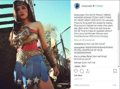 Cosplay fan Irene Cruz the new 10 p m  anchor at WOAI - Houston