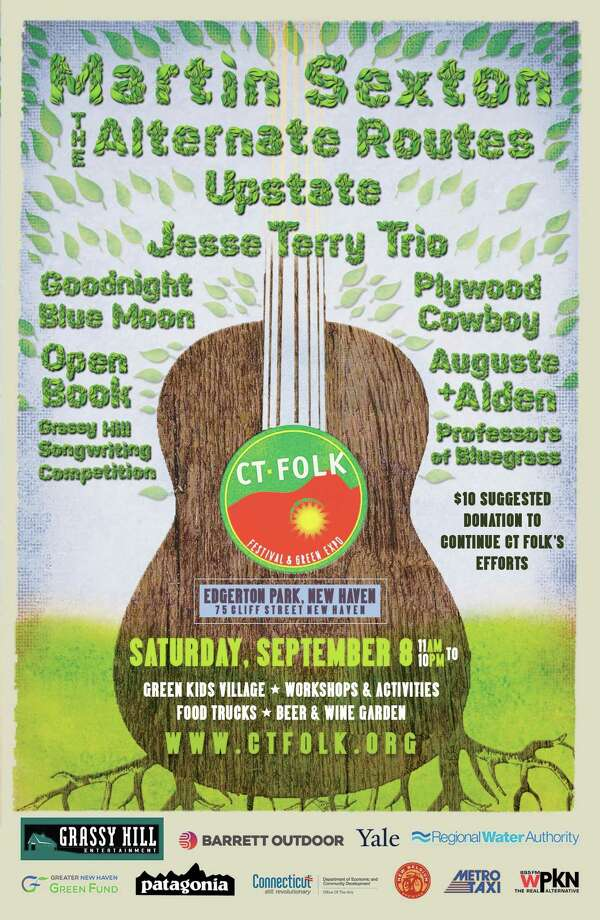 Martin Sexton and Bridgeport natives The Alternate Routes will headline the 26th CT Folk Fest & Green Expo. Photo: Contributed
