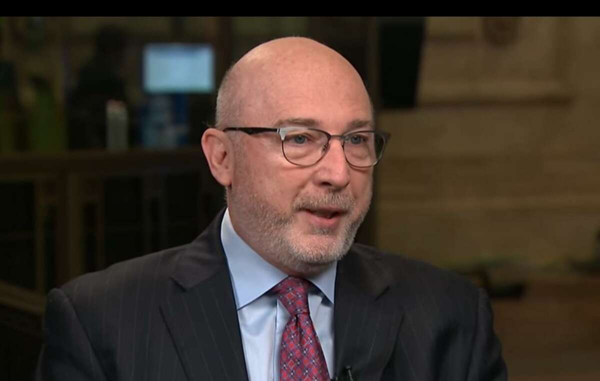 United Rentals CEO Michael Kneeland appears in mid-December 2017 on CNBC's