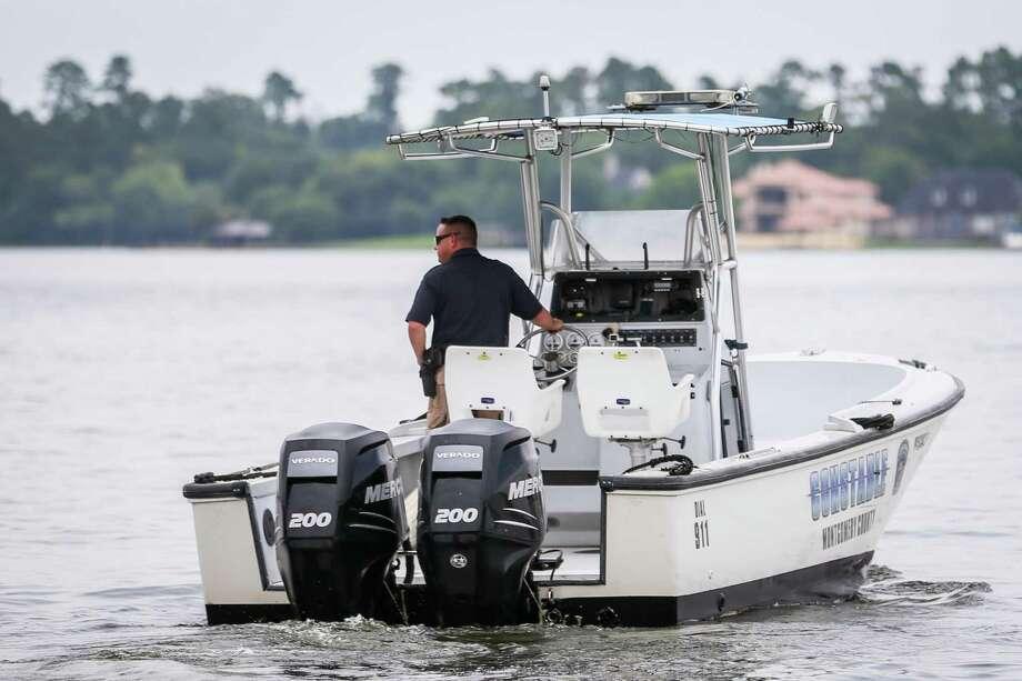 Precinct 1 Constable's Lt. Tim Cade is pictured on Lake Conroe. Photo: Michael Minasi, Staff Photographer / Houston Chronicle / © 2018 Houston Chronicle