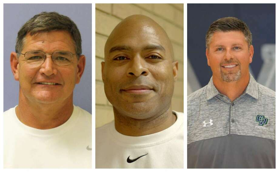 PHOTOS: Football coaches score big salaries The top 35 highest paid coaches in the Houston area will each earn more than $106,000 this year. >>>Swipe through and see if your high school coach made the list.... Photo: Conroe ISD, Spring Branch ISD