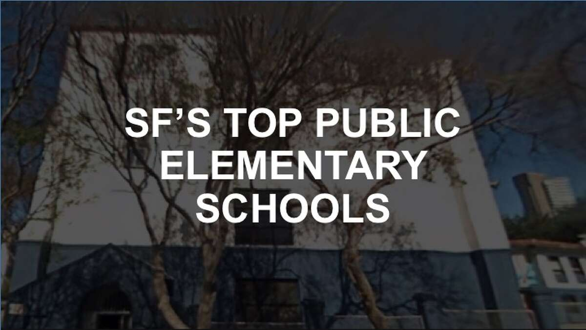 Click through the slideshow to see the ranking of SF's top public elementary schools, according to Niche.