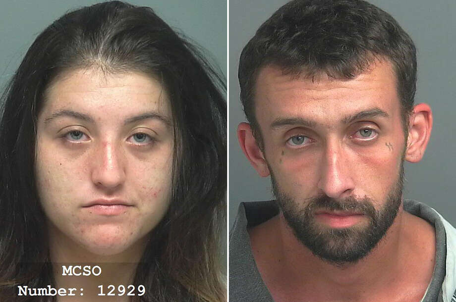 PHOTOS: Crime sprees in the Houston area Joclyn Gray and Randall Coleman are accused of burglarizing storage units in Montgomery County. >>>See info on people recently accused in Houston-area crime sprees... Photo: Montgomery County Jail