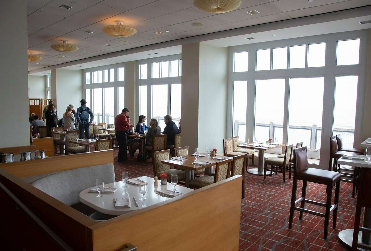 Diners enjoy the C-Restaurant in the Intercontinental Hotel on Thursday, 8/2, 2018 in Monterey, California. Soerke Peters is president of the Monterey Bay chapter of American Culinary Federation and he recommends the C-Restaurant as one of Monterey Bay's eco-friendly dining spots.
