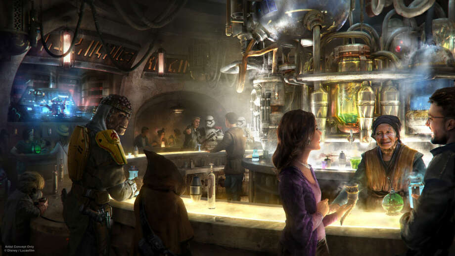 Oga's Cantina, a new bar headed to Star Wars: Galaxy's Edge at Disneyland, will serve alcohol to guests.
