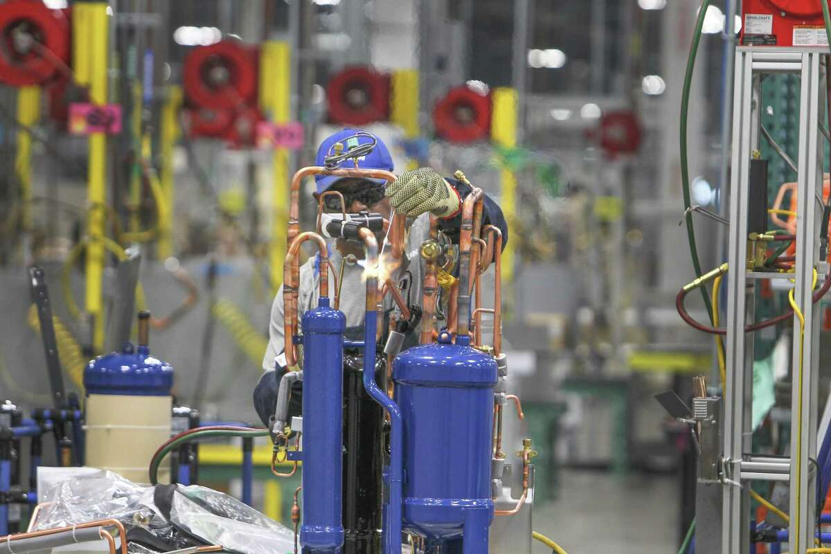 The manufacturing sector added 16,400 jobs in Houston last month compared to March 2018.