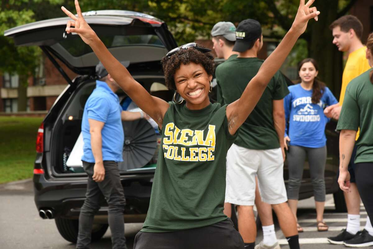 Were you Seen at Freshman Move-In Day on Thursday, Aug. 30, 2018 at Siena College in Loudonville?