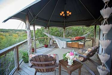 Two Texas places named among the best places to go 'glamping