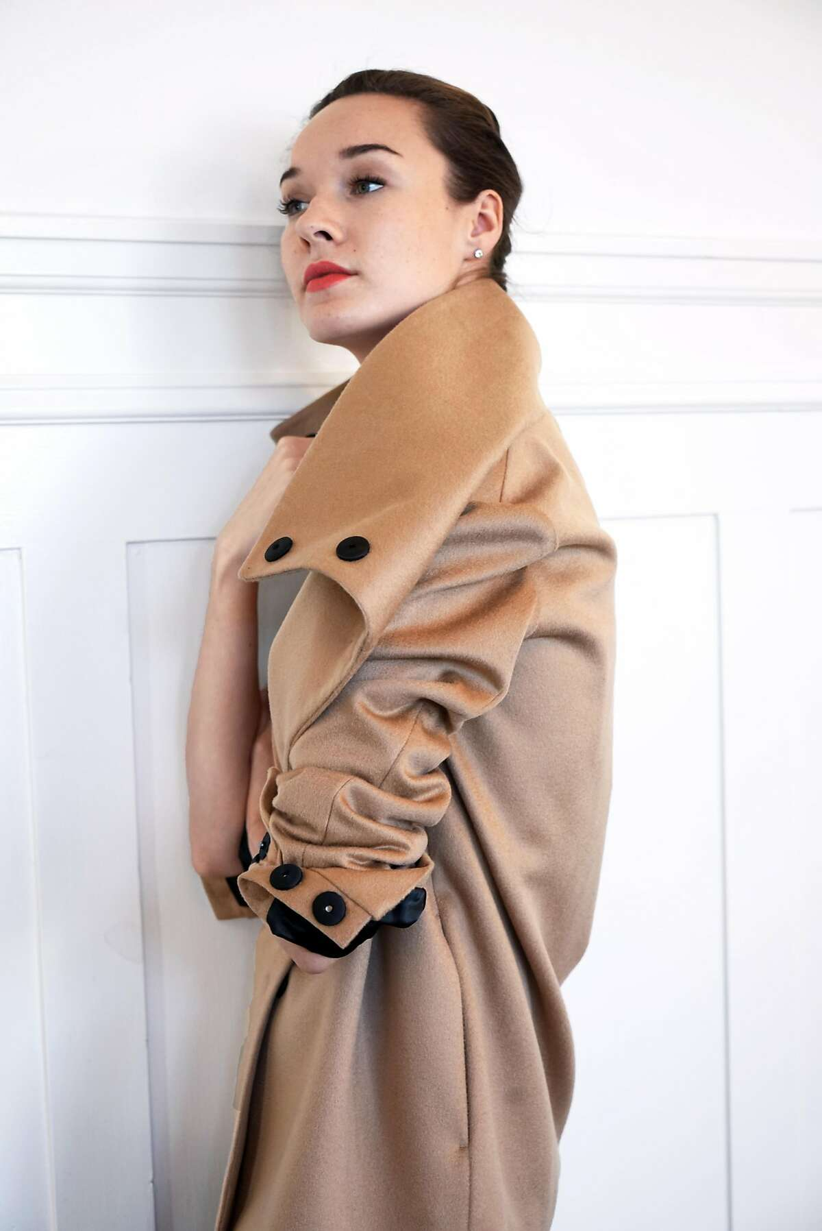 Lan Jaenicke describes one of her eponymous label�s cashmere signature pieces, the�Stamford II Jacket ($1,195) as��both sleek and plush. The distinctive, high collar can be pulled up to dramatic effect, or left slack, framing its wearer in relaxed lines.� The jacket comes in a range of hues.