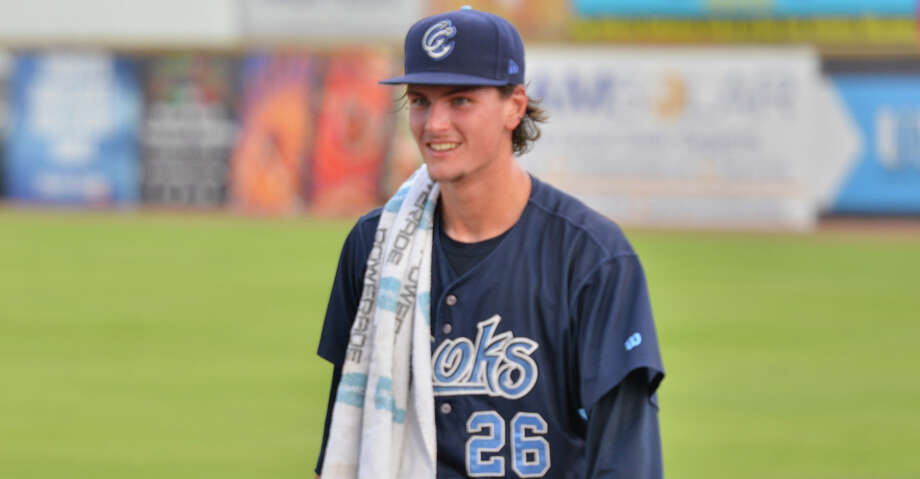 PHOTOS: Astros game-by-game Forrest Whitley heads to dug-out after warming up during his return to San Antonio to face the Missions Monday night. Browse through the photos to see how the Astros have fared in each game this season. Photo: Robin Jerstad