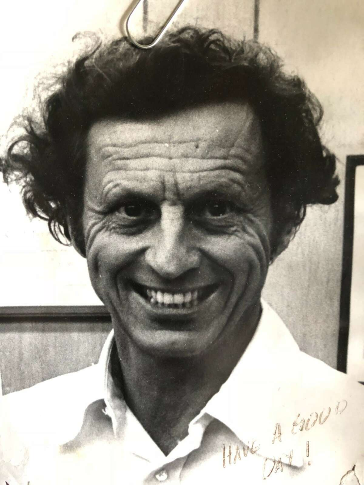 Sherman H. Hink in the early 1970s around the time he acquired the signage company from its previous owner, father-in-law Stanley Fitzgerald