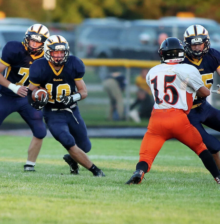 Bad Axe 50, Vassar 14 Photo: Paul P. Adams/Huron Daily Tribune