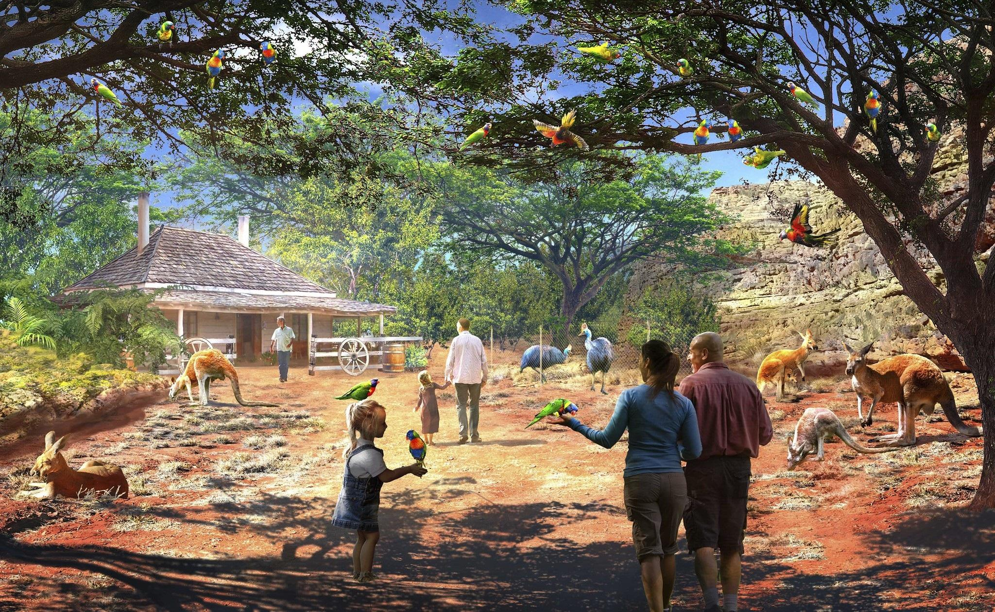 San Antonio Zoo Unveils Possible Habitats For 20 Year