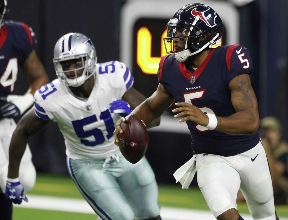 PHOTOS: NFL's best available free agents Texans backup quarterback Joe Webb rolls out to buy time for his receivers to get open. >>>See which players remain available ... Photo: Brett Coomer, Houston Chronicle / Staff Photographer / © 2018 Houston Chronicle