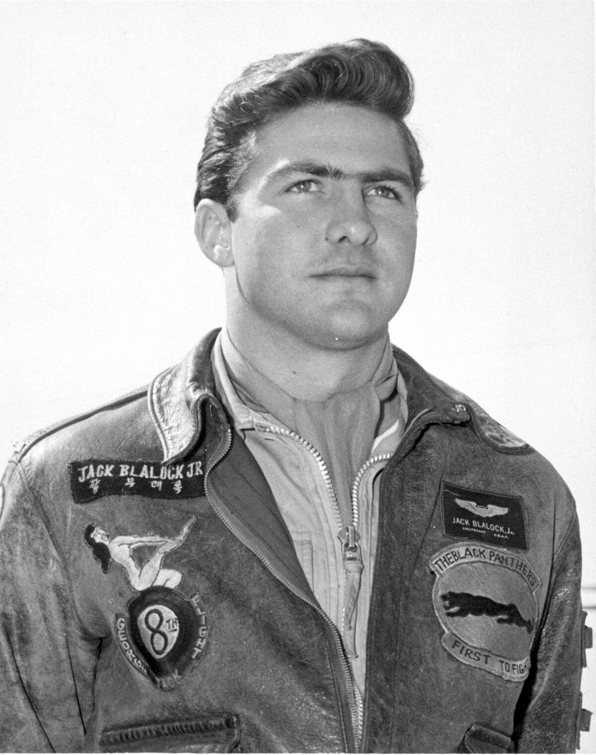 Jack Boothe Blalock Jr., Ace in the air, Korean War vet and partner in Backstreet Cafe.